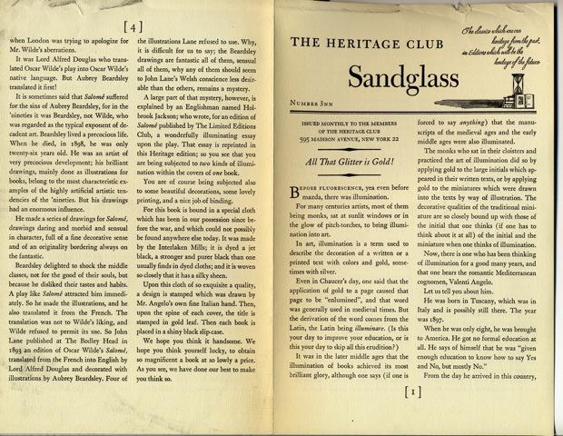 Heritage Press: Salome by Oscar Wilde (1945) (5/6)