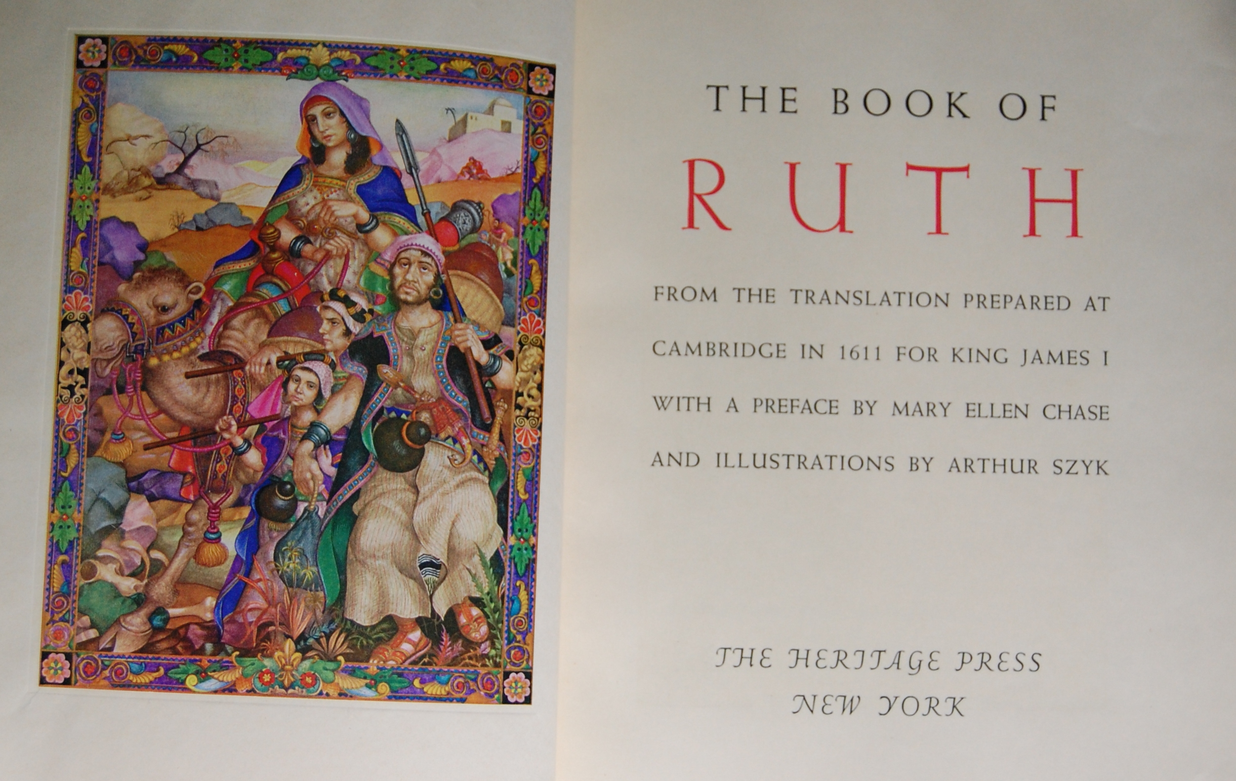 the book of ruth The book of ruth ruth i 1 now it carne to pass in the days when the judges ruled, that there was a famine in the land and a certain man of bethlehem-judah went to sojourn in the country of moab, he, and his wife, and his two sons.